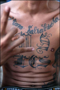 Mara Salvatrucha MS13 (Foto: Public Domain)