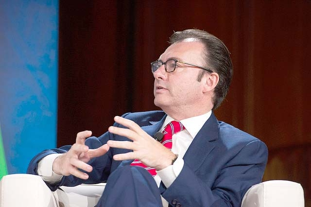 Mexiko, Videgaray - Foto: Ryan Rayburn/IMF Photo