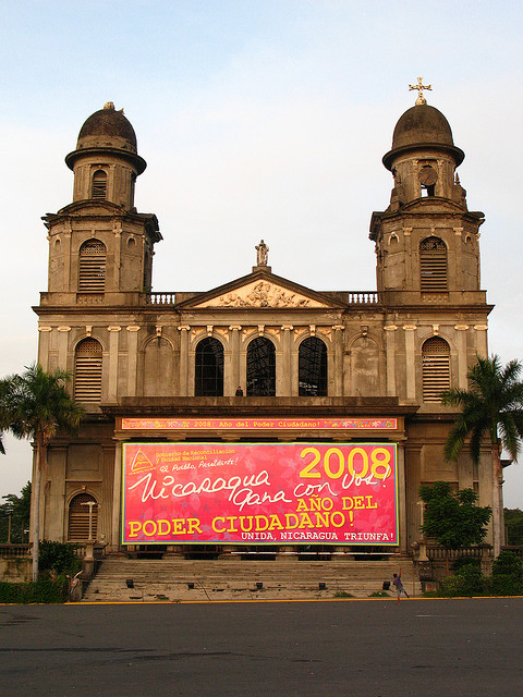 Kathedrale in Managua. Foto: Robert Blackie